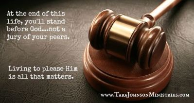 pleasing god vs jury of peers